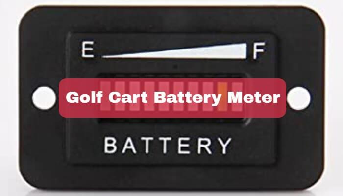 Golf Cart Battery Meter